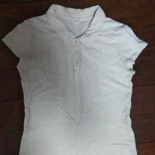 ムジルシリョウヒン(MUJI (無印良品))の無印良品 ポロシャツ 綿&麻 ベージュ(ポロシャツ)