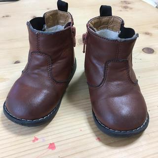 エイチアンドエム(H&M)のサイドゴア ブーツ h&m 靴 シューズ PU レザー 革(ブーツ)