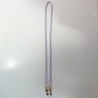 組紐 グラスコード 手組み 正絹 メガネストラップ  ハンドメイド シルク(サングラス/メガネ)