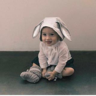 PETIT BATEAU - MARLMARL ウサギ帽子