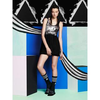 アディダス(adidas)のAdidas x Rita Ora  Smoke Tank Dress(ミニワンピース)