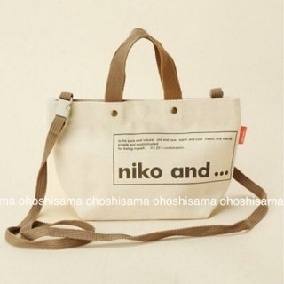 niko and... - 新品未使用 ニコアンド ロゴトート