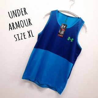 UNDER ARMOUR - UNDER ARMOUR   XLサイズ  タンクトップ バスタン