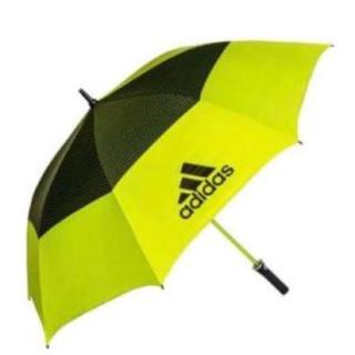 adidas - ☆新品☆アディダス ワンプッシュゴルフ傘 Golf umbrella イエロー