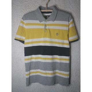 ティンバーランド(Timberland)の6698 Timberland 爽やか 半袖 ボーダー デザイン ポロシャツ(ポロシャツ)
