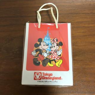 Disney - 訳あり【未開封】ディズニー 25周年 復刻 メモ ショッピングバッグ