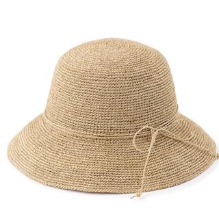 ムジルシリョウヒン(MUJI (無印良品))の無印 帽子 ラフィア(麦わら帽子/ストローハット)
