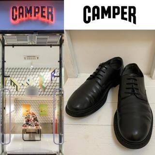 CAMPER - CAMPER VINTAGE カンペール Neuman レザーシューズ ブラック