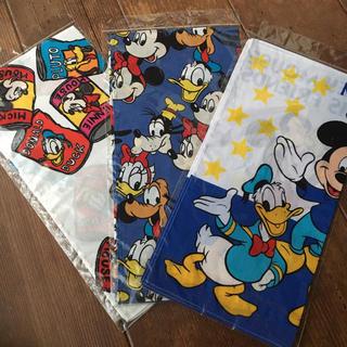 Disney - ディズニー ハンカチ 3枚