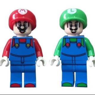 レゴ 互換 マリオとルイージ 2体セット