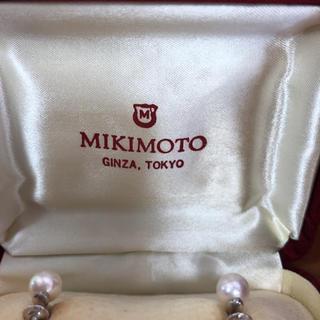 ミキモト(MIKIMOTO)のミキモトパール  イヤリング東京銀座(イヤリング)
