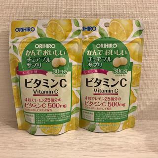 ORIHIRO - サプリメント オリヒロ 新品 ビタミンC 2袋 サプリ 美白 シミ 美肌