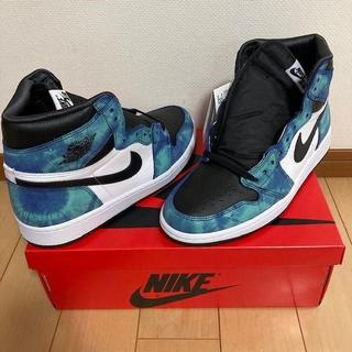 NIKE WMNS AIR JORDAN1 HIGH OG TIE-DYE(スニーカー)