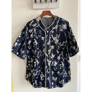 ルイヴィトン(LOUIS VUITTON)の☆20SS☆ルイヴィトン☆LVリーフデニムベースボールシャツ(シャツ)