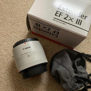 Canon - CANON エクステンダー EXTENDER EF2× III