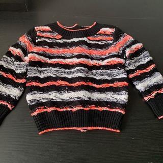 シャネル(CHANEL)のCHANEL セーター ピンク ホワイト & ブラック(ニット/セーター)