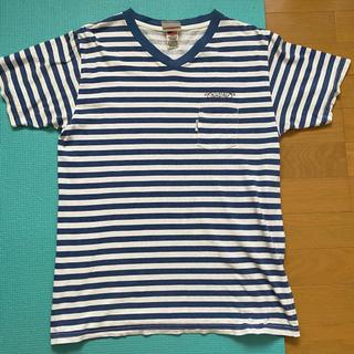 インターフェイス(INTERFACE)のインターフェイス ボーダー Tシャツ Lサイズ(Tシャツ(半袖/袖なし))