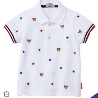 mikihouse - 【新品未使用】ミキハウス プチプッチー ポロシャツ  100