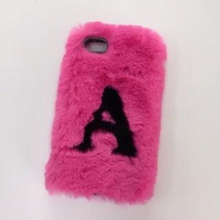 ザラ(ZARA)のZARA購入♡iPhone8ケース♡フワフワファー♡ピンク♡美品♡ザラ♡(iPhoneケース)