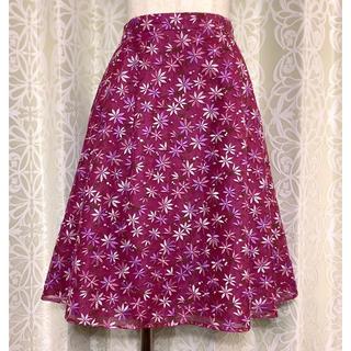 TOCCA - TOCCA(トッカ)花柄刺繍スカート