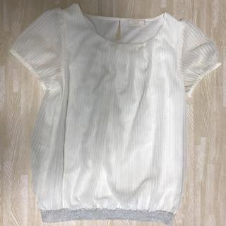 エニィスィス(anySiS)のエニィスィス 2 トップス カットソー ブラウス(シャツ/ブラウス(半袖/袖なし))