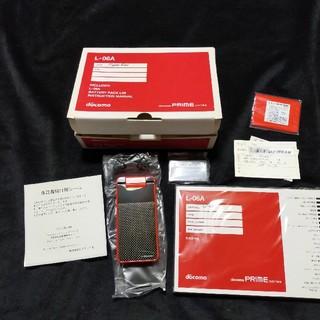 エルジーエレクトロニクス(LG Electronics)の[新品未使] PRIME series L-06A(携帯電話本体)