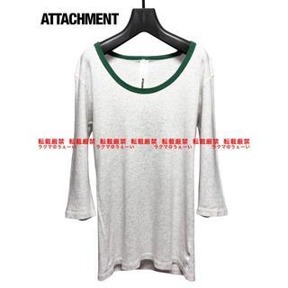 アタッチメント(ATTACHIMENT)のATTACHMENT プリモアフライス Uネックカットソー(Tシャツ/カットソー(七分/長袖))