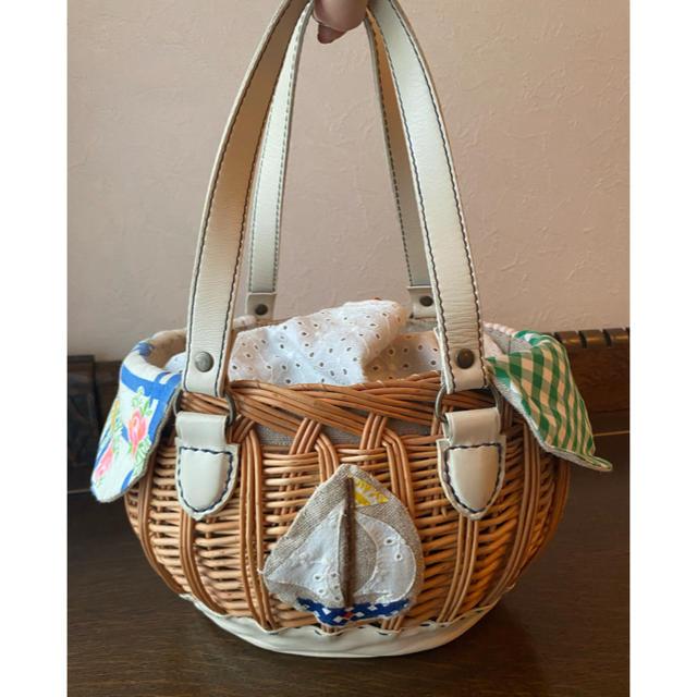 mina perhonen(ミナペルホネン)のDay After day カゴ 籠 バッグ  レディースのバッグ(かごバッグ/ストローバッグ)の商品写真