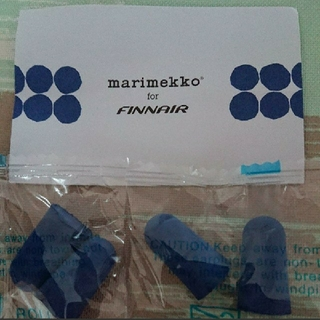 マリメッコ(marimekko)のフィンエアー 耳栓(旅行用品)