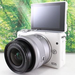 Canon - Canon ミラーレス一眼カメラ EOS M10 レンズキット(ホワイト)