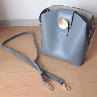 エル(ELLE)のレディース バック ELLE  BAG ショルダー付き ブルー ビジネス(ショルダーバッグ)