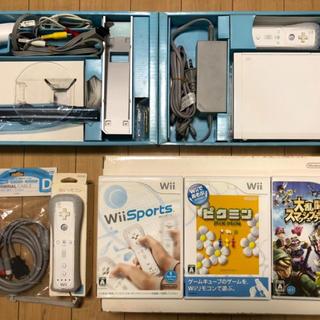 Wii - Wii ソフト セットで