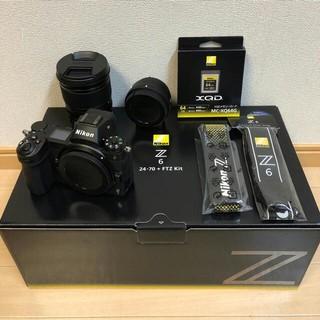 ニコン(Nikon)の☆新品同様保証有☆ ニコン Z6 24-70 FTZ  64GB  XQDセット(ミラーレス一眼)