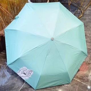 ティファニー(Tiffany & Co.)のTIFFANY ティファニー 折りたたみ傘 ブラック 傘 日傘 雨傘 兼用(傘)
