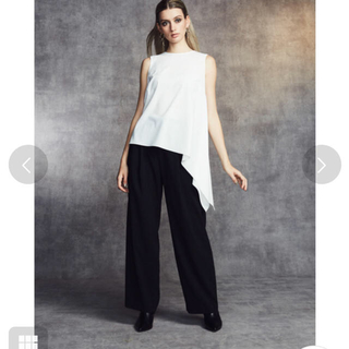 DOUBLE STANDARD CLOTHING - sovアシンメトリートップス