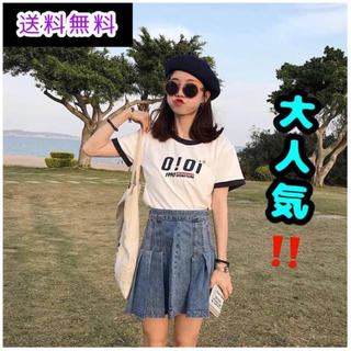 スタイルナンダ(STYLENANDA)のoioi 韓国Tシャツ ホワイト(Tシャツ(半袖/袖なし))