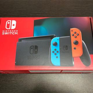 任天堂 - Nintendo Switch 本体  ネオンブルー/ネオンレッド 新品未開封