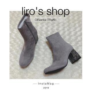 オリエンタルトラフィック(ORiental TRaffic)のORiental TRaffic♡ グリッターヒールストレッチブーツ(ブーツ)