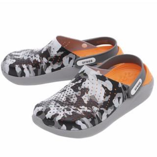 crocs - crocs クロックス ライトライド カモフラ 24㎝ 新品 新素材