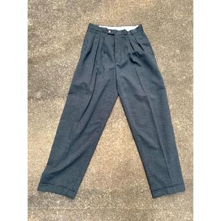 アンユーズド(UNUSED)の60's vintage Glitter 3tuck wide slacks(スラックス)