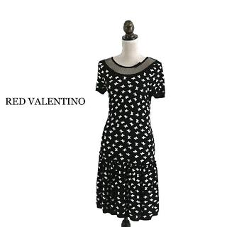 レッドヴァレンティノ(RED VALENTINO)のRED VALENTINO レッドヴァレンティノ ワンピース(ひざ丈ワンピース)