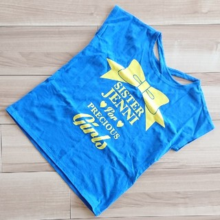 JENNI - 美品♥️150★ジェニィ★バッククロス半袖Tシャツ