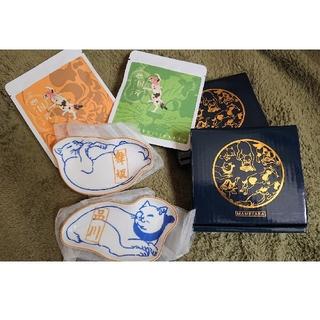 リサラーソン(Lisa Larson)の猫雑貨 豆皿 小皿 限定ハーブティー 四点セット(食器)