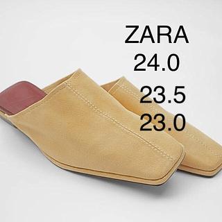 ザラ(ZARA)のタグ付 ZARA フラットシューズ 24㎝(スリッポン/モカシン)