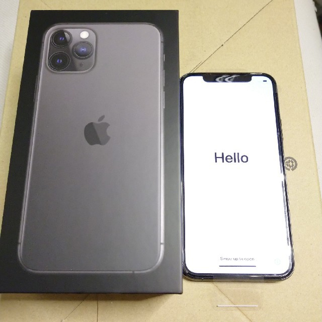 iPhone(アイフォーン)の iPhone11 pro 64GB SIMフリー【新品未使用】 スマホ/家電/カメラのスマートフォン/携帯電話(スマートフォン本体)の商品写真