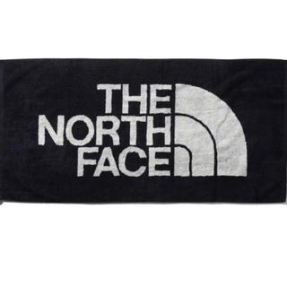 ザノースフェイス(THE NORTH FACE)の新品★ノースフェイス バスタオル ブラック L★(その他)