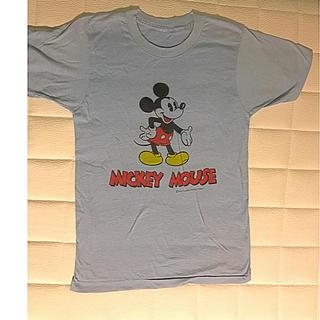 Disney - 【珍品】ミッキー ヴィンテージ  Tシャツ