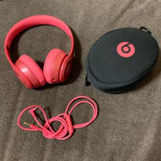 ビーツバイドクタードレ(Beats by Dr Dre)の【値段交渉可能】beats by Solo2 ヘッドホン(ヘッドフォン/イヤフォン)
