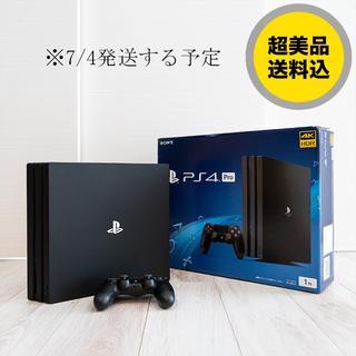 SONY - 【超美品/送料無料】PlayStation 4 Pro ジェット・ブラック1TB