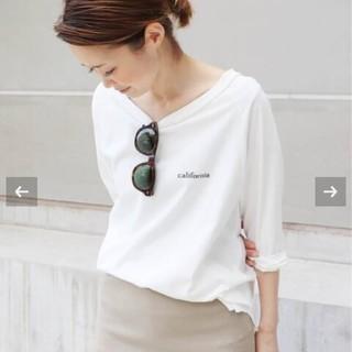ドゥーズィエムクラス(DEUXIEME CLASSE)のDeuxieme ClasseラグランバックプリントTシャツ(Tシャツ(長袖/七分))